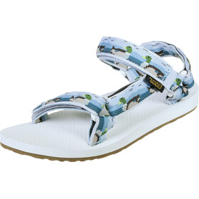 Teva Original Universal Sandalen Damen ducks lightblue